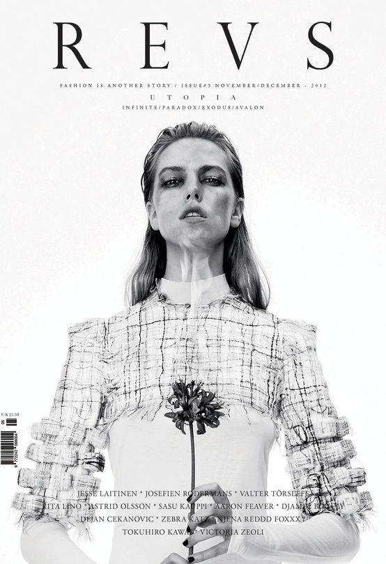 Revs Magazine. Title treatment has such class.