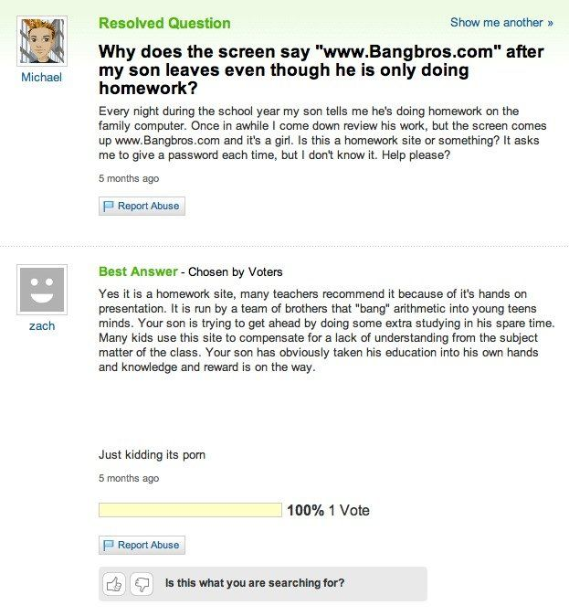 Best Yahoo Answers Images On Pinterest Yahoo Answers Fails - 27 hilarious yahoo questions
