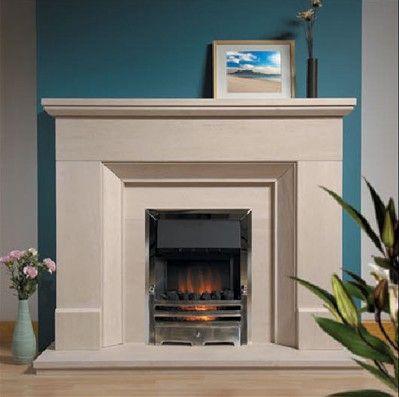 49 best chimney images on Pinterest | Limestone fireplace ...