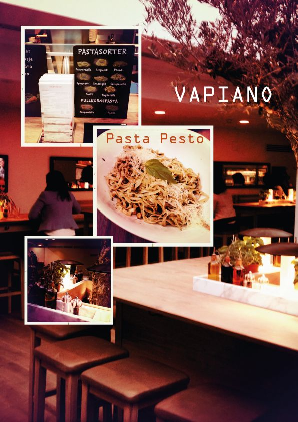 Vapiano - Stockholm - Design and Fabrics