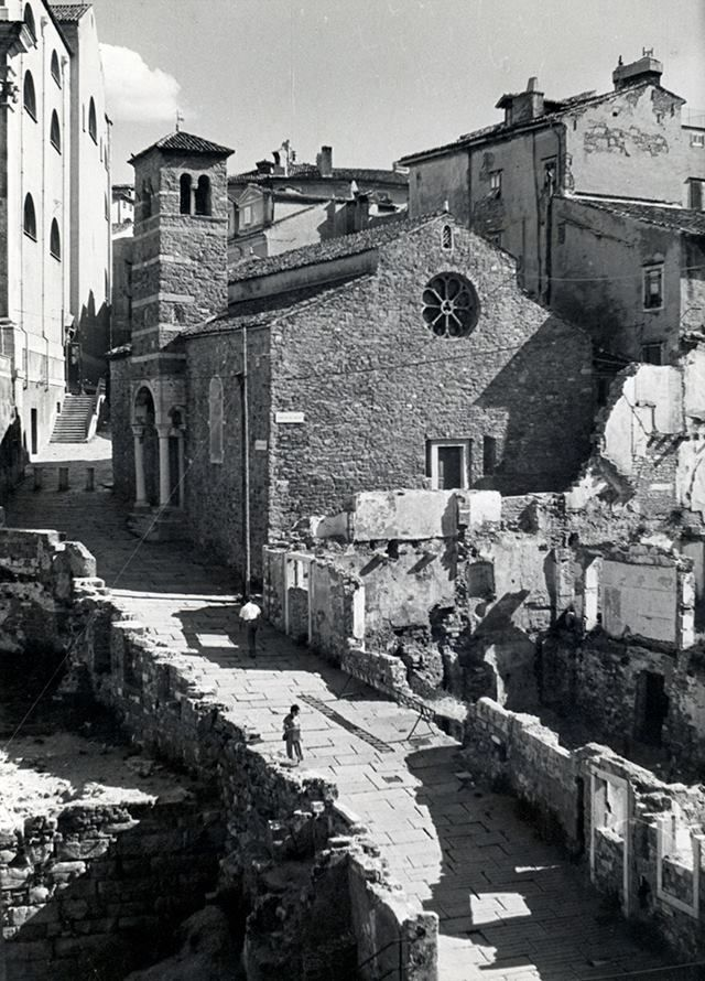 The oldest church in Trieste