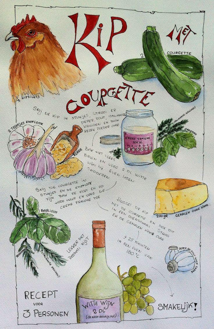 Chicken Courgette