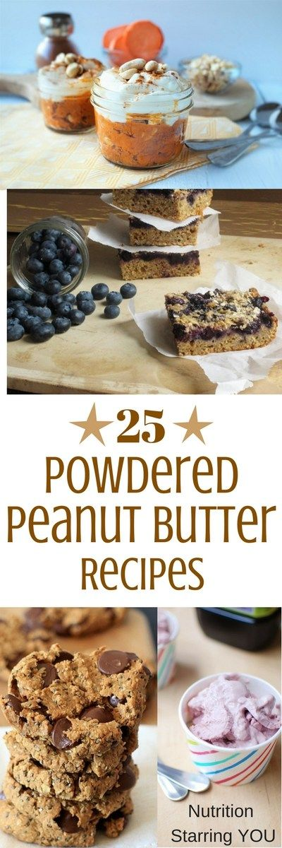 25 Powdered Peanut Butter Recipes from registered dietitian nutritionists! Via @LaurenPincusRD at www.NutritionStarringYOU.com  #peanutbutterday #peanutbutterrecipes #powderedpeanutbutter #powderedpeanutbutterrecipes #peanutbutterbreakfastrecipes #healthypowderedpeanutbutterrecipe