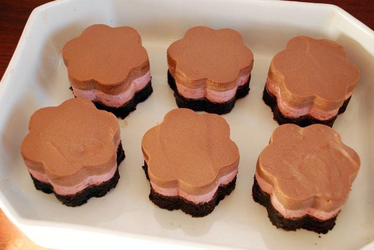 Chokolademousse kager