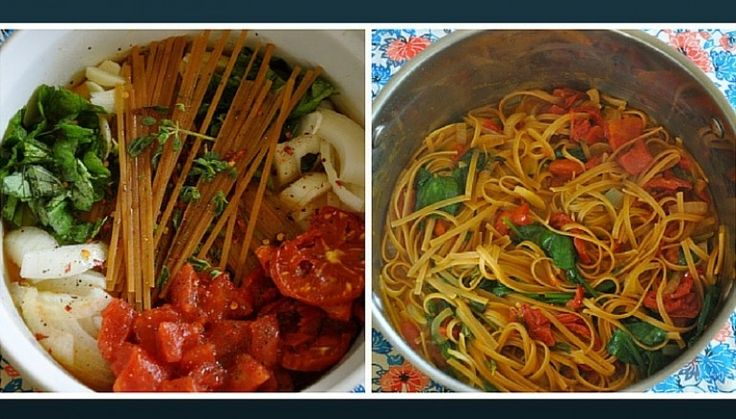 Delicious Italian Wonderpot: One Pot Meals to cook on days you are exhausted!