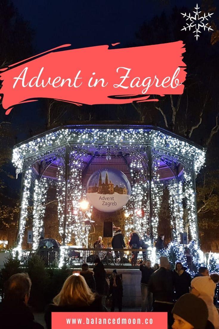 Winter Travel Destinations Advent In Zagreb Winter Travel Destinations Winter Travel Christmas Destinations