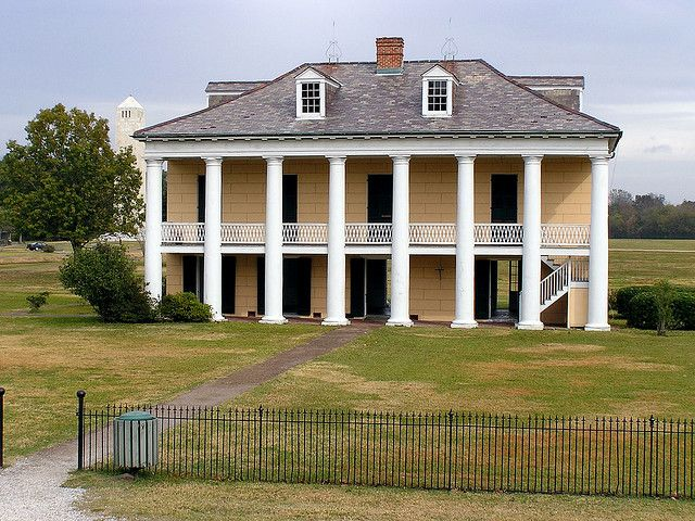 Plantation House - Chalmette National Battlefield - New Orleans - Louisiana