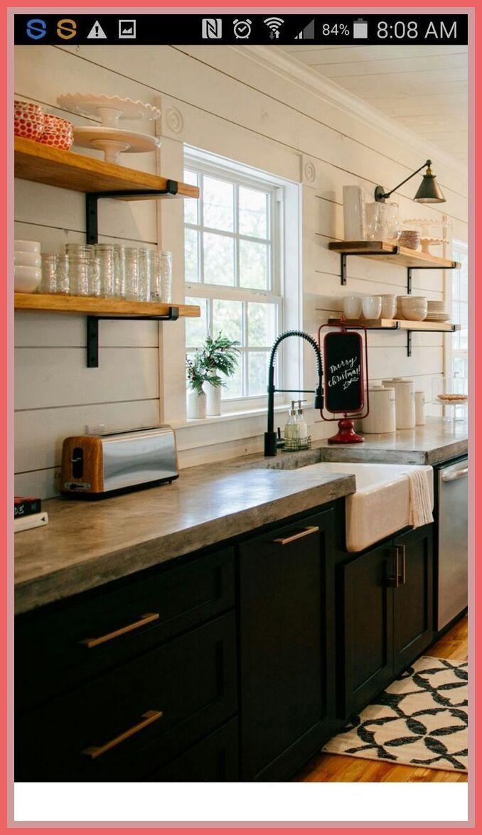 32 reference of black concrete countertops in