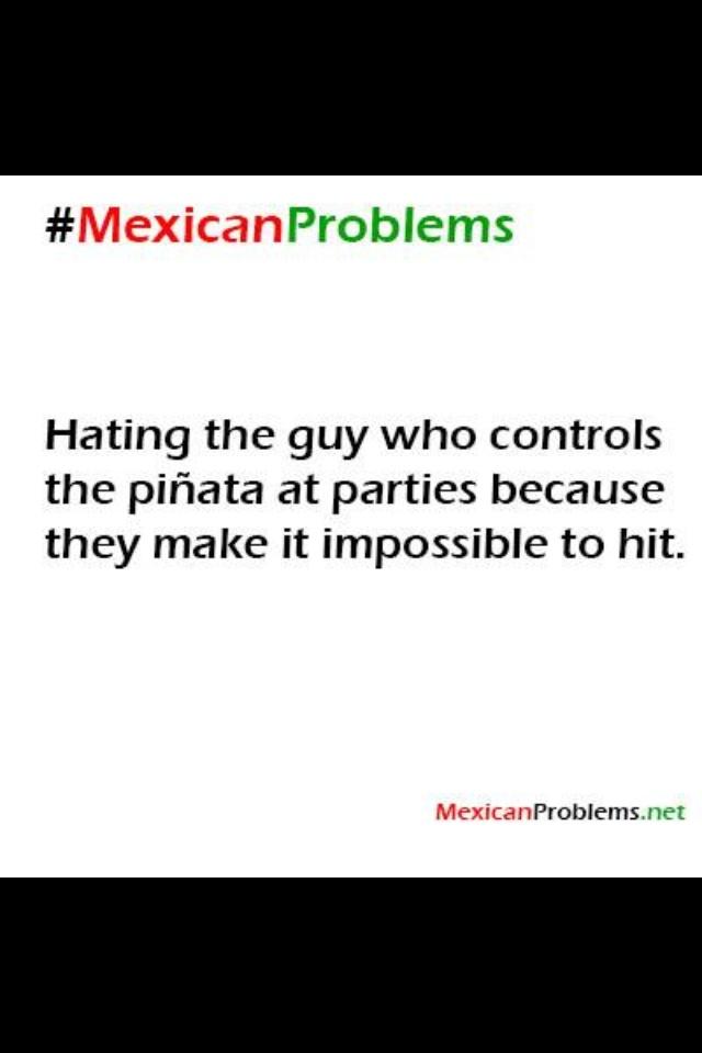 Mexican Problems: no soy mexicano, pero se los hago a mis sobrinitos.