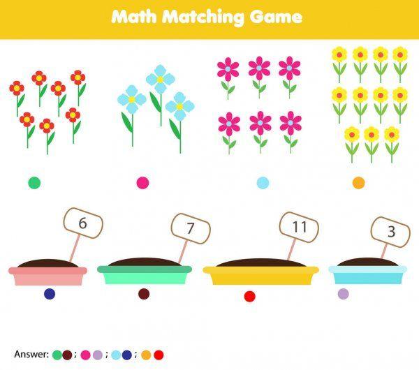 Matematyka Gra Edukacyjna Dla Dzieci Dopasowanie Aktywnosci Matematyki Liczenie Gra Dla D In 2021 Educational Games For Kids Mathematics Activities Educational Games