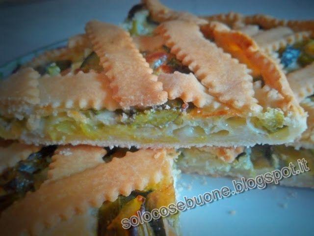 Ricette SoloCoseBuone  : Torta salata con asparagi