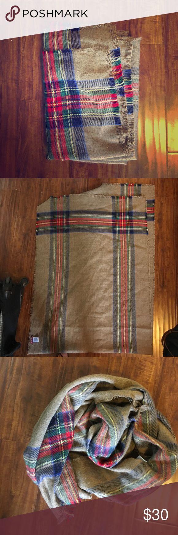 Selling this Beautiful Blanket Scarf on Poshmark! My username is: stylishsuitcase. #shopmycloset #poshmark #fashion #shopping #style #forsale #Accessories
