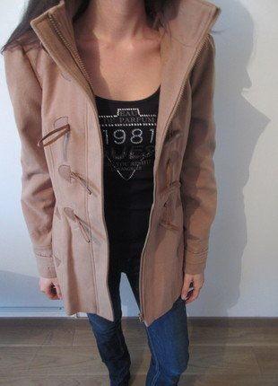 À vendre sur #vintedfrance ! http://www.vinted.fr/mode-femmes/cabans/30184495-duffle-coat-femme-camel-taille-38