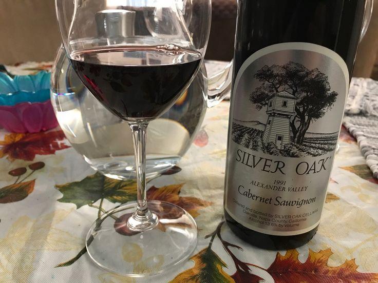 Enjoying a birth year wine! '91 Silver Oak. #wine #winelover #tips #vino #WineWednesday #winelovers #Italy