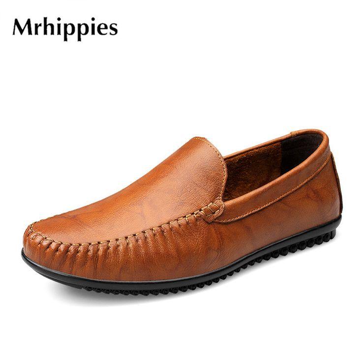 Nouveau Printemps Angleterre Mode Hommes Chaussures Zapato Chaussures Casual Mocassins Flats Slip Shoes,Orange,41