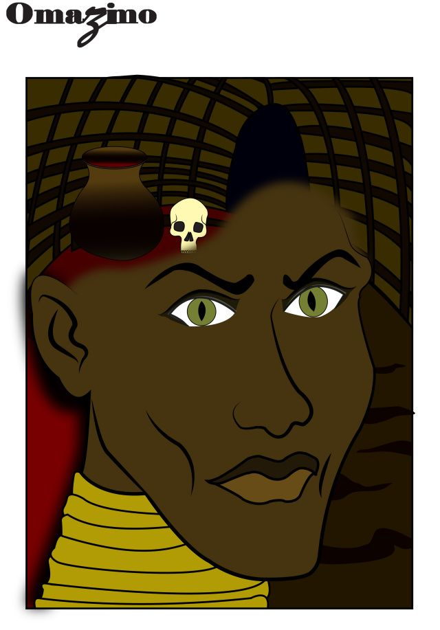 The Blind witch  omazimosa.wordpress.com