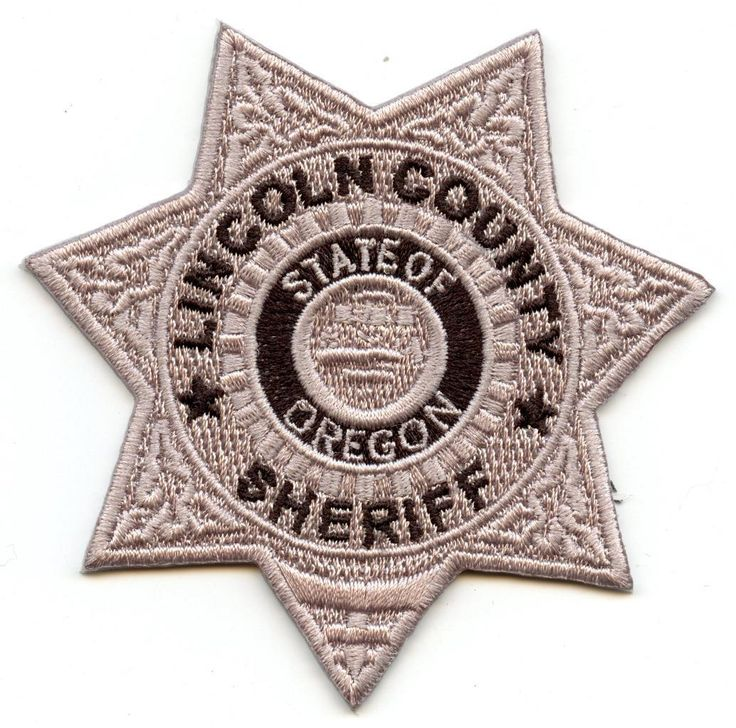 "Lincoln County Oregon 3"" Patch Sheriff Department Law Enforcement Officer LEO • $5.99 - PicClick"