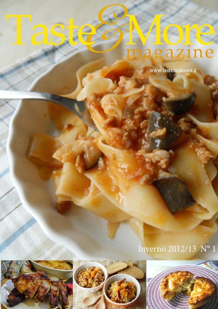 Taste&More Magazine gennaio-febbraio 2013 n° 1  Rivista di cucina ed arte culinaria