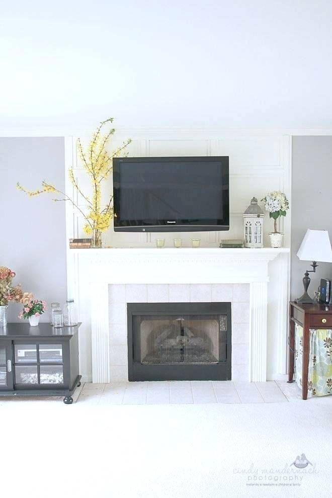 Image Result For Tv Above Fireplace Uk Wall Mounted Tv Tv Above Fireplace Modern Fireplace