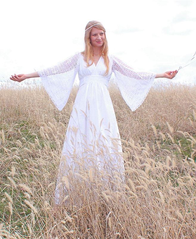 Hippie Type Wedding Dress