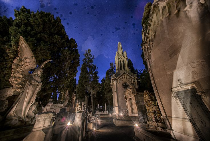 #Montjuic #Cemetary #Barcelona #Catalunya #España #Travel #Photography