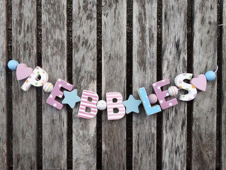 Beste Buchstaben Kinderzimmer Zum Aufstellen Bilder ...