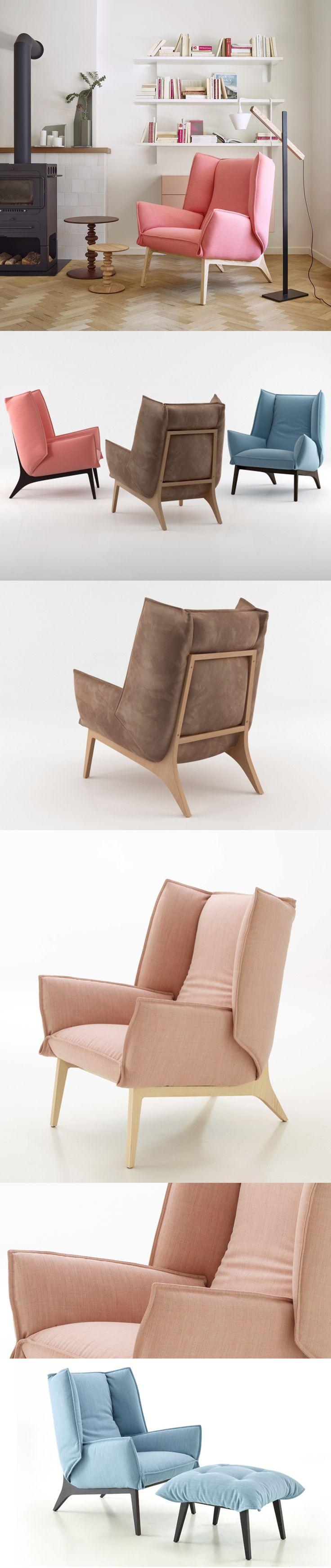Toa Armchair - design Rémi Bouhaniche - Ligne Roset