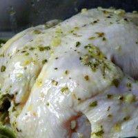 Marinade voor kip met citroen en knoflook : Recepten van Domy