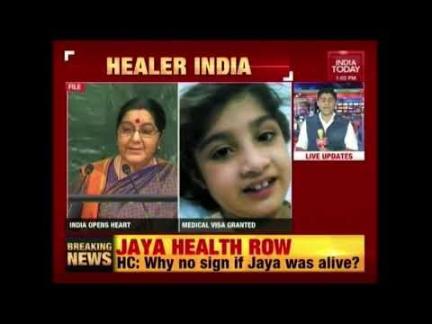 India Opens Arms To Little Pakistani Heart Patient India Today