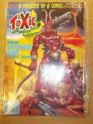 TOXIC #17 18 JULY 1991 BRITISH MAGAZINE ACCIDENT MAN^ in Books, Comics & Magazines, Comics, UK Comics & Annuals   eBay