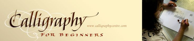 Calligraphy for Beginners calligraphyforbeginners.com/ Jun 7, 2011 - Repetition is the easiest form of organizing. Understanding vertical downstrokes at a ... (from the website) I would live to have great artistic penmanship! Mine is...not.