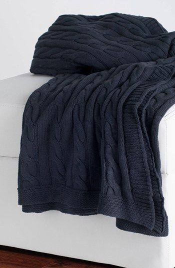 Free shipping and returns on Rizzy Home Cable Knit Cotton Throw at Nordstrom.com. A textured, cable-knit blanket adds a cozy-chic accent to your décor.