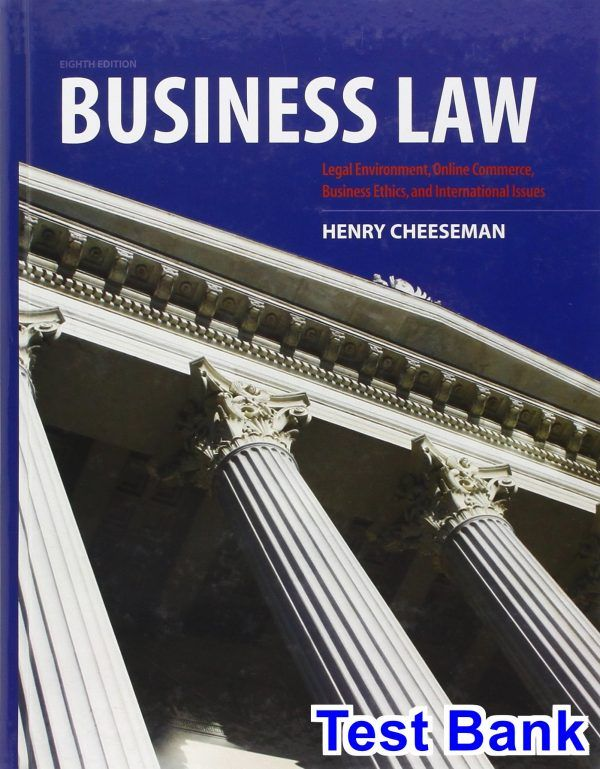 53 best test bank download images on pinterest test bank for business law 8th edition by fandeluxe Choice Image