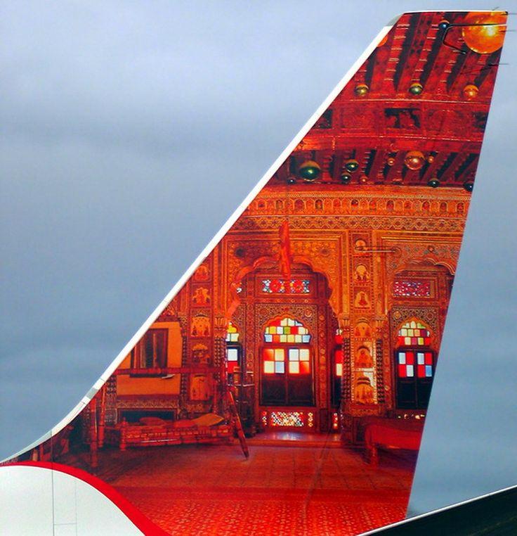 Air India Express Boeing B737-800 (Mehrangarh Fort)