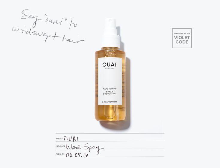 Ouai Wave Spray l The ocean-inspired mist that delivers an effortlessly tousled mane l Editor's Pick l The Violet Files l @violetgrey