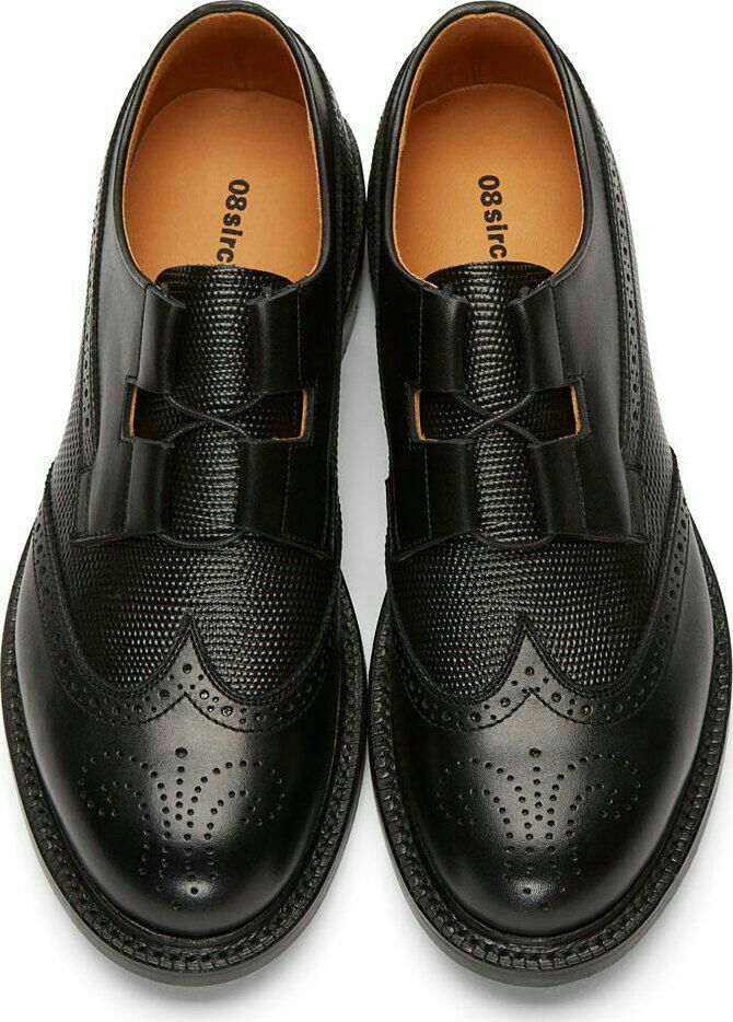 d851d8947a54 The Best Men s Shoes And Footwear   Black Leather Brogues -Read More – -