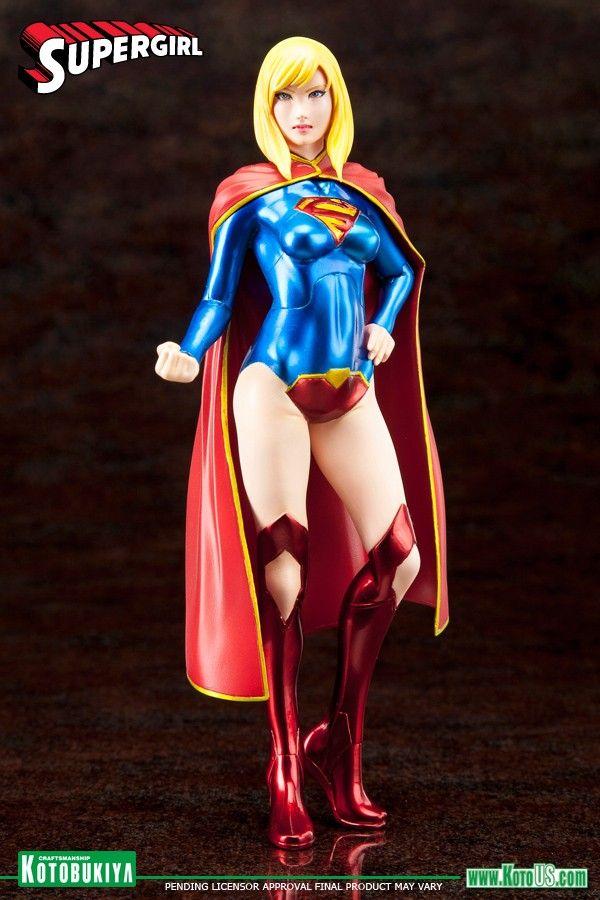 DC COMICS SUPERGIRL NEW 52 ARTFX+ STATUE