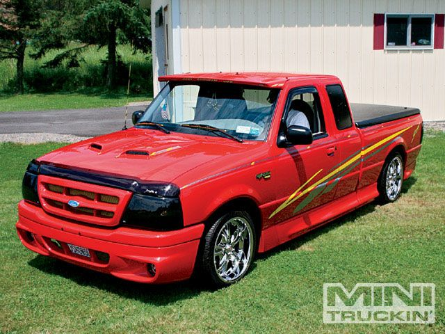 Custom Mini Trucks March 2009 1999 Ford Ranger Photo 1