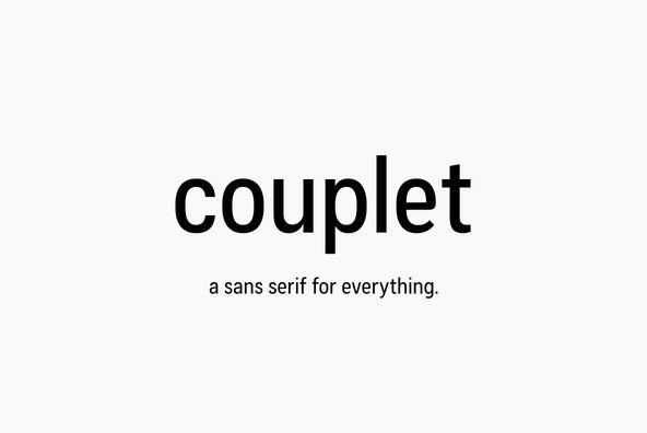 Couplet CF By Connary Fagen on YouWorkForThem.