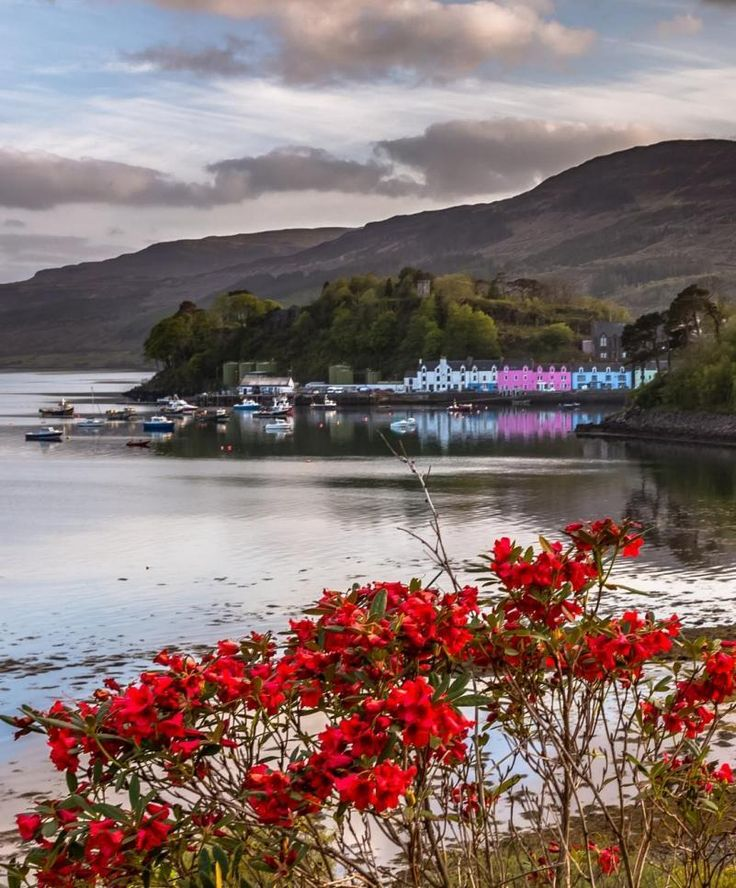 Portree, Isle of Skye, Scotland by Europe Trotter