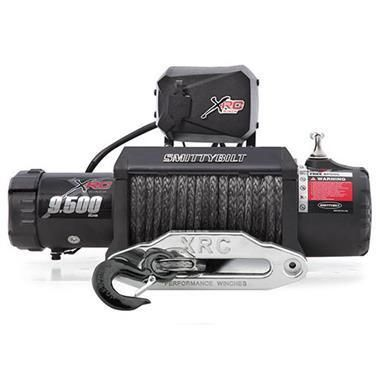 XRC-9.5K Winch Synthetic Rope Gen2 With Aluminum Fairlead