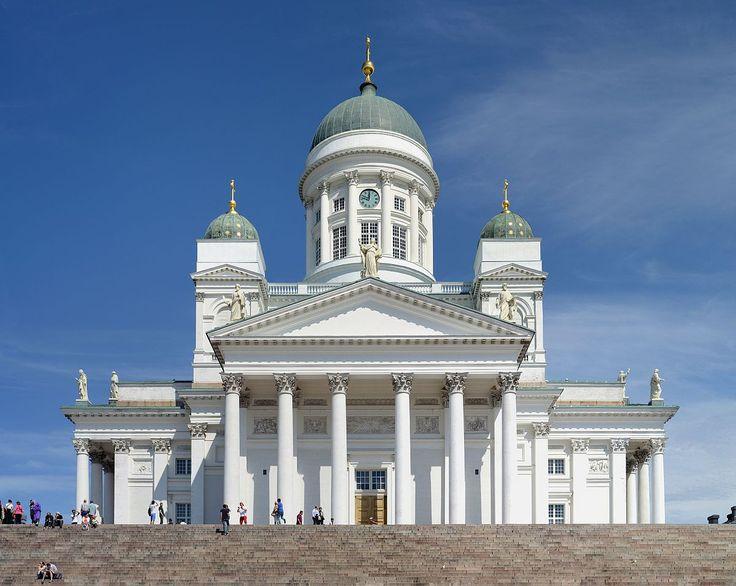 Finland - Helsinki Cathedral in Helsinki
