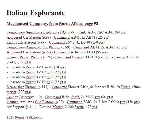 Garry McFarland, Italian, Italian-Esplorante, MID WAR, 1625