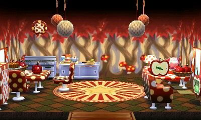 Animal Crossing Happy Home Designer Restaurant Tumblr