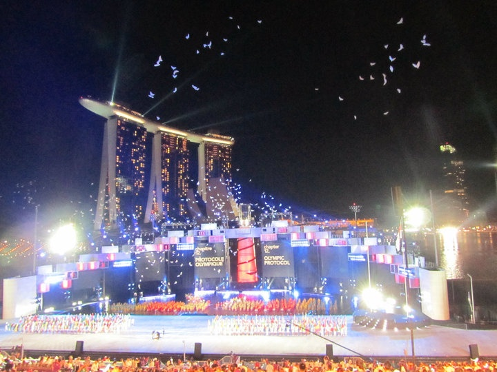 Singapore hosted the inaugural Youth Olympic Games in 2010  #SportWellness