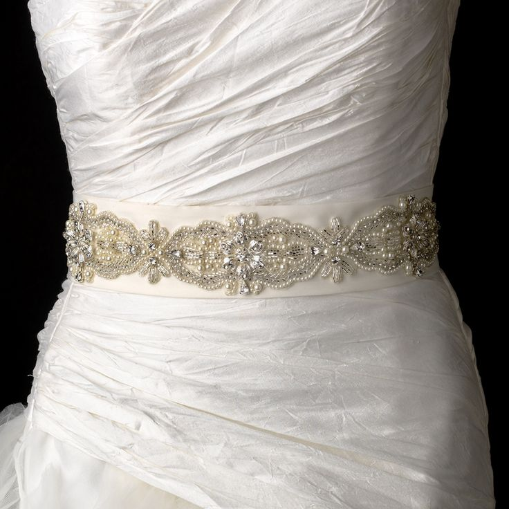 9 best Bridal Belts & Sashes images on Pinterest | Short wedding ...