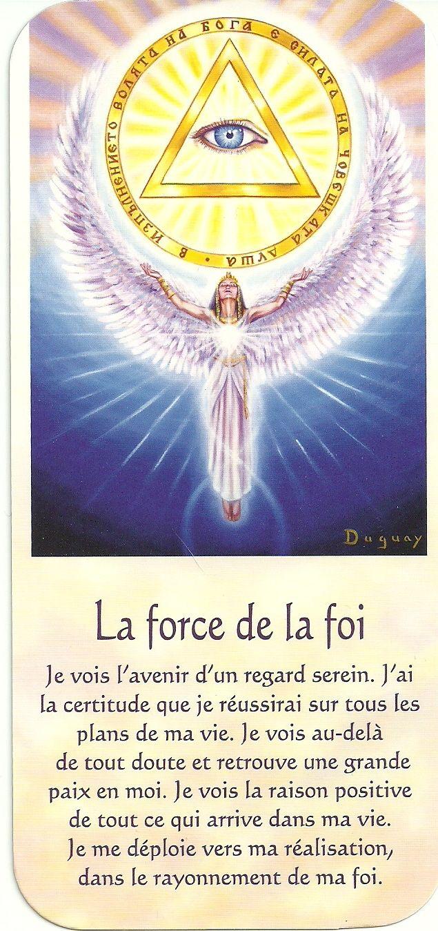 Mario Duguay- Message d'éveil La force de la foi