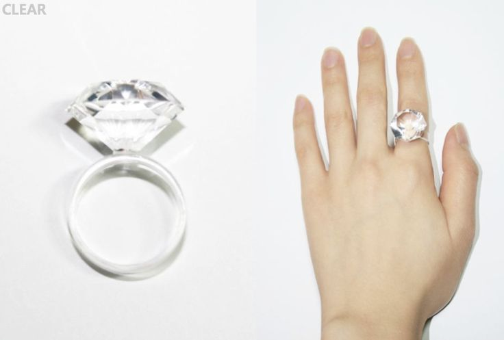 Clear silicone ring, available in three different sizes S,M,L - www.scicche.it