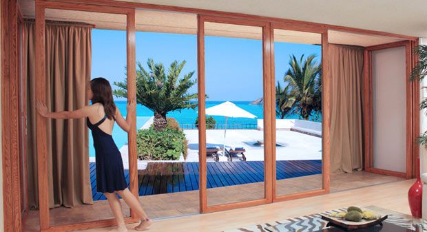 Panoramic Doors Exterior French Doors Custom French Doors Folding Patio Doors Los Angeles San