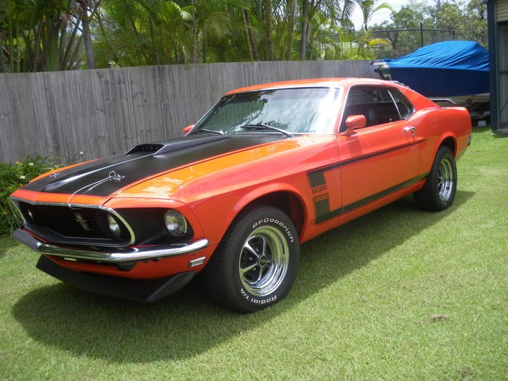 Ford Mustang Fast Back Boss Tribute Qld Muscle